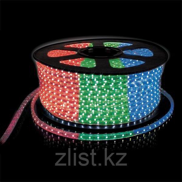 Светодиодная лента SMD 3528, 220 v в пвх оболочке RGB