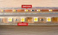 Светодиодная лента SMD 3528, 220 v в пвх оболочке RGB, фото 6