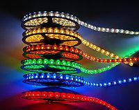Лента SMD 3528, 12v герметичная 60 диодов/метр красный, желтый, синий,зеленый, холодный белый,теплы, фото 2
