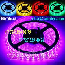 Светодиодна лента SMD 3528, 12v герметичная 240 диодов/метр Цвет: белый,зеленый,красный,синий,желтый