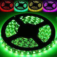 Светодиодная лента SMD 5050, 12v герметичная 30 д/м Цвет: белый,зеленый,красный,синий,желтый, фото 7