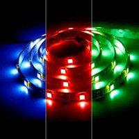 Светодиодная лента SMD 5050, RGB 12v герметичная 60 диодов/метр, фото 5