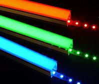 Светодиодная лента SMD 5050, RGB 12v не герметичная 60 д/метр, фото 5