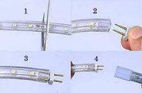 Коннекторы - Соединители для LED лент SMD 3528, фото 5