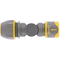 Соединитель быстросъемный, универсальный 1/2-3/4, с шарниром Palisad Luxe