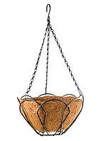Подвесное кашпо, 30 см, с кокосовой корзиной Palisad