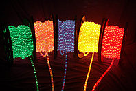 Ламповый Дюралайт 85 м бухта круглый 2-х жильный все цвета, фото 3