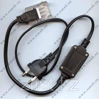 Сетевой шнур для  LED дюралайта 2 жылы