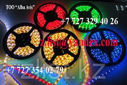 Светодиодная лента smd 5050, 12v не герметичные 60 д/метр Цвет: Белый,зеленый,красный,синий,желтый