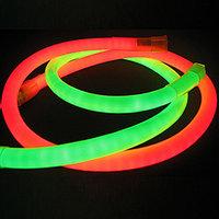 Неоновый шнур, 220 в неон холодный, флекс, круглый неон, 360 градусов. Все цвета. 16 мм, фото 8