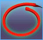 Холодный неон полупрофессиональный матрица 220в SMD 3528, Flex LED Neon , гибкий неон, холодный неон