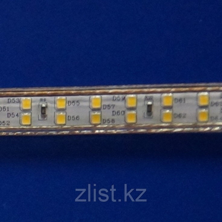 LED лента SMD 3014, 220 v, 240 диодов в пвх оболочке