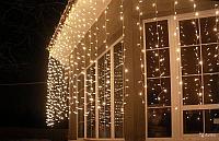"""Гирлянды светодиодные, новогодние, уличные LED гирлянда """"Шторки Занавес"""" 3*0,5 метра, фото 3"""