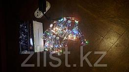 """Гирлянды светодиодные, новогодние, уличные струна, нить, twinkle light. 2.5 м. мигающая """"Бутылочка"""""""