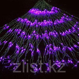 Гирлянды светодиодные, новогодние, уличные Водопад. 2*6 метра