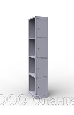 Дополнительная секция 4 ячейки к шкафу ШР14/400 (400х500х1850) арт. ШР14/400ДС