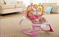 Детский шезлонгI-baby зайчикInfant-To-Toddler Rocker, фото 1