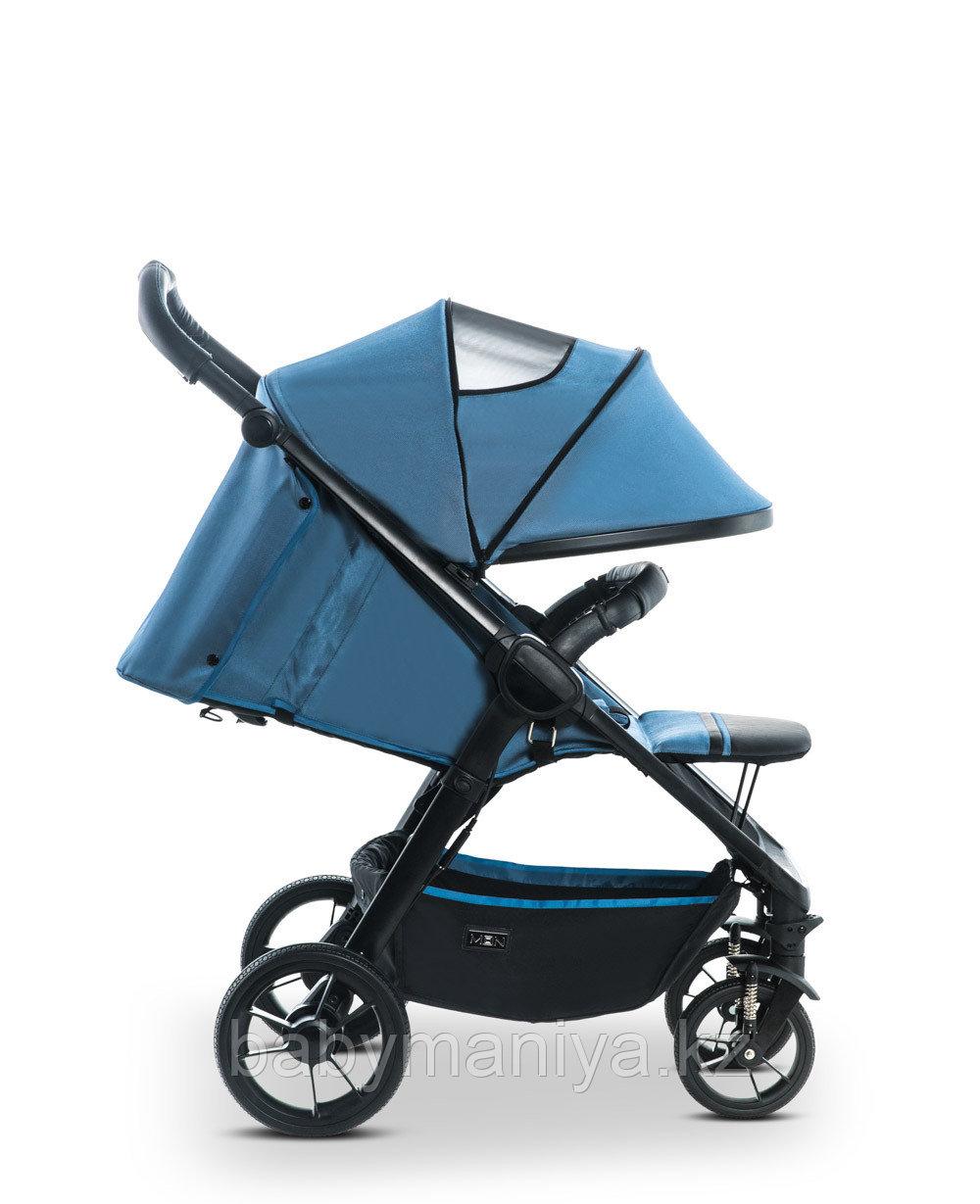 Коляска детская прогулочная Moon JET-R City  blue/nylon