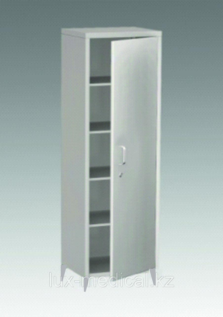 Шкаф медицинский металлический одностворчатый