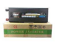 Инвертор преобразователь 12 220  3000 Вт с функцией зарядки и UPS , фото 1