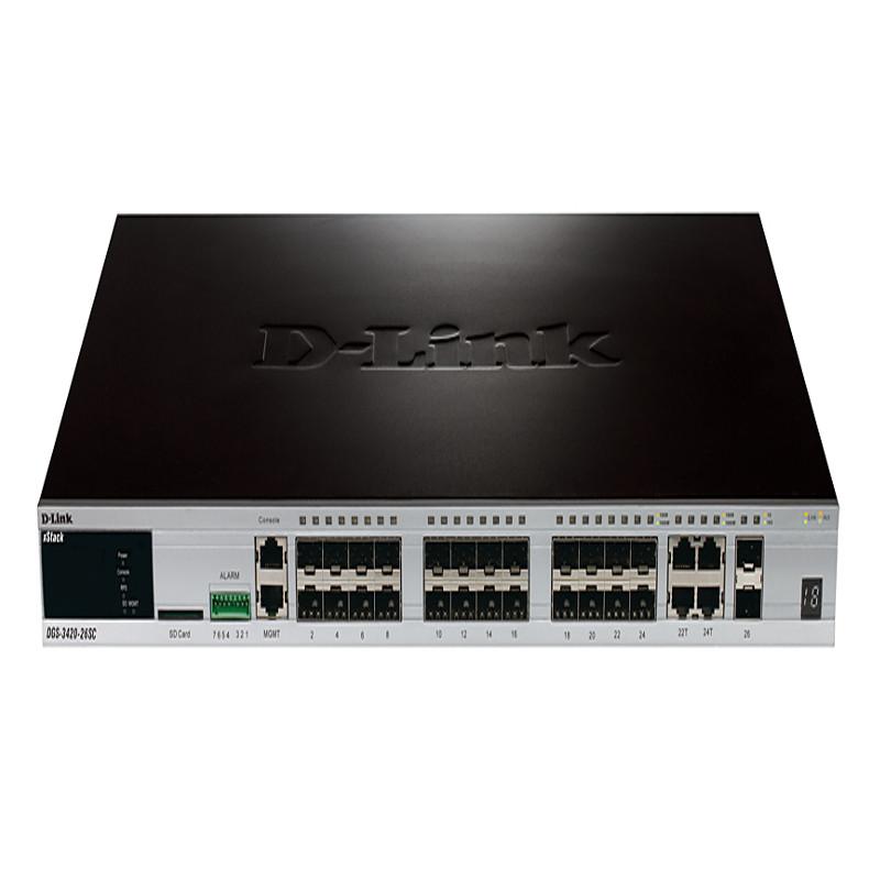 Коммутатор D-Link DGS-3420-26SC