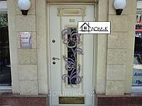 Дверь входная в салон красоты