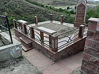 Установка и оформление памятников