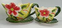 Керамический горшок для цветов 23 см диаметр