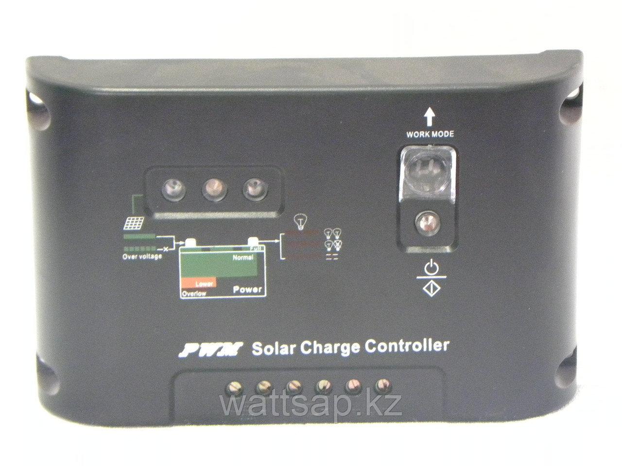 Контроллер заряда аккумуляторов для солнечных систем 10А