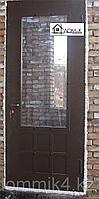 Входные двери в частный дом со стеклом