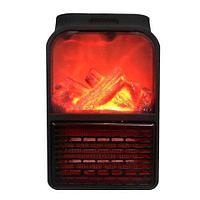 Обогреватель портативный с LCD-дисплеем, пультом д/у и имитацией камина Flame Heater JIEJIA, фото 1