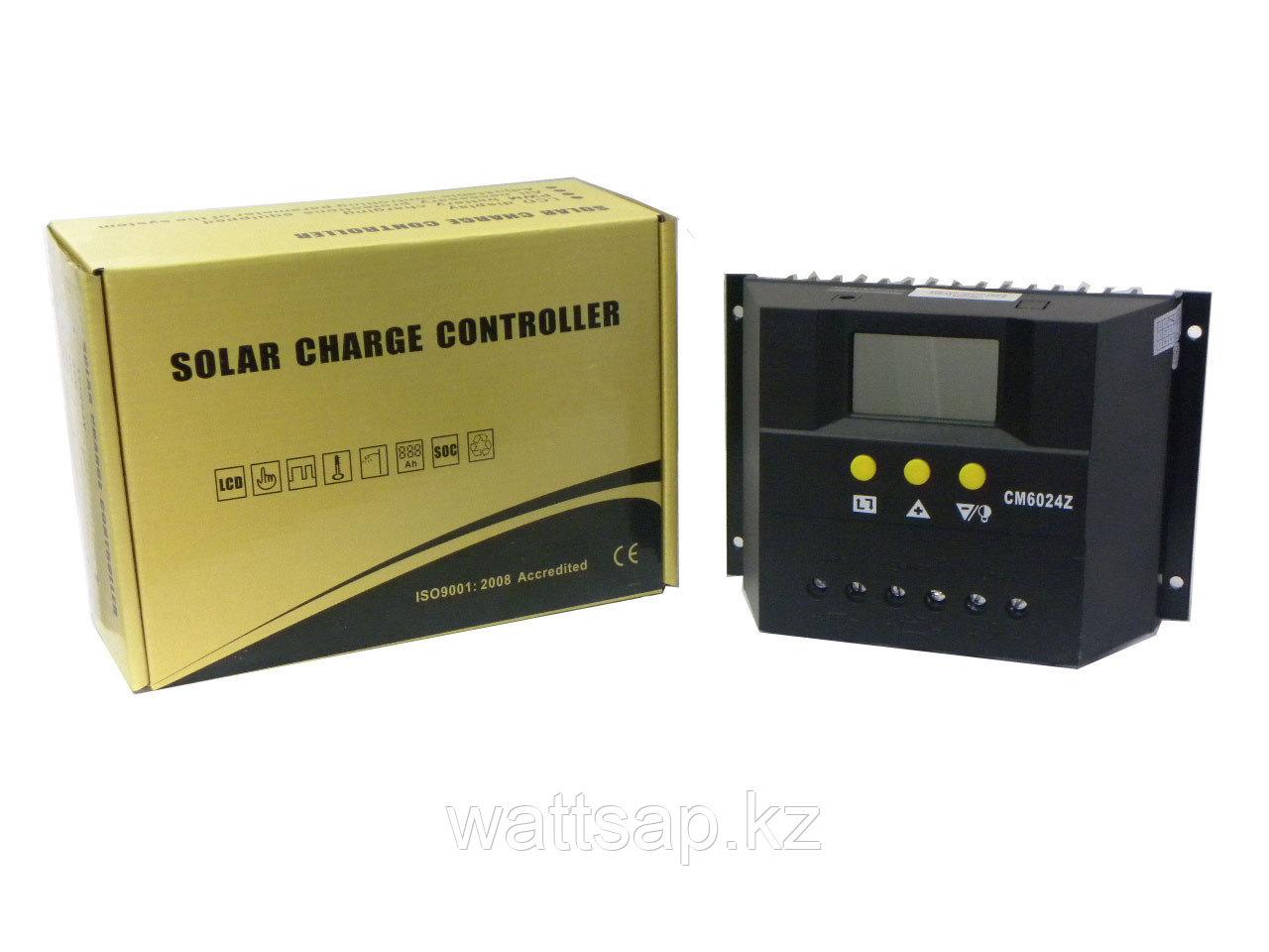 Контроллер заряда аккумуляторов для солнечных систем CM6024Z 60А