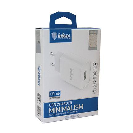 Зарядное устройство INKAX CD-46 2.4A, фото 2