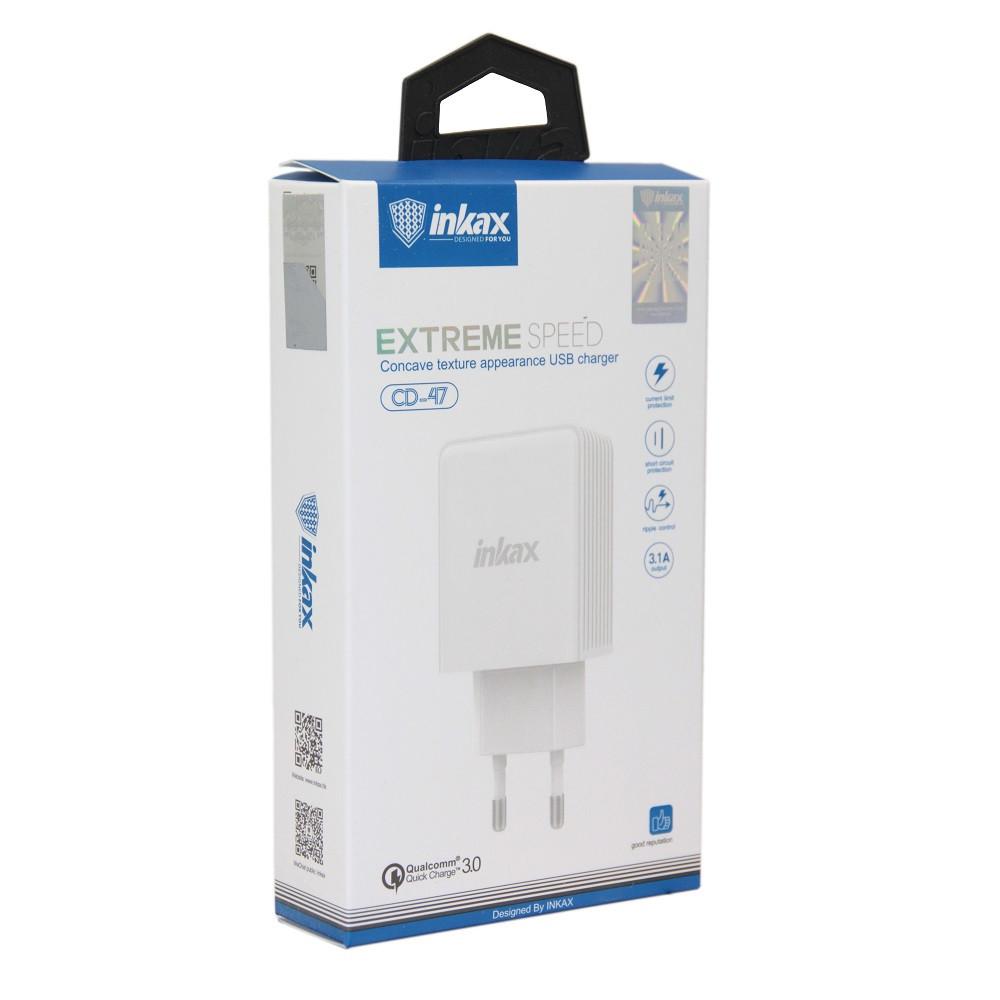 Зарядное устройство переходник INKAX CD-47 3.1A
