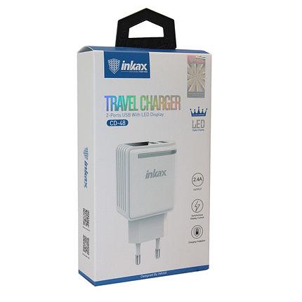 Зарядное устройство INKAX CD-48 2.4A, фото 2