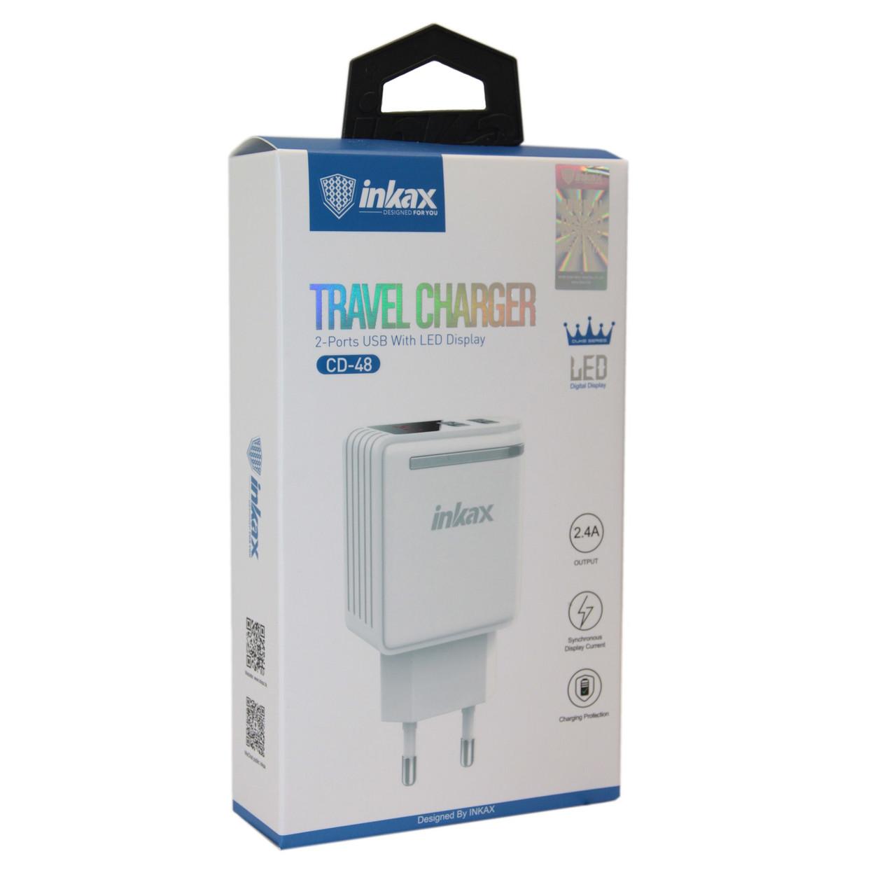 Зарядное устройство INKAX CD-48 2.4A