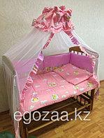 Комплект детского постельного белья к-06 (7 предметов)