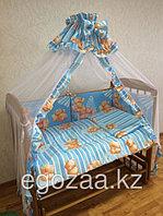 Комплект детского постельного белья к-06 МКР (7 предметов)