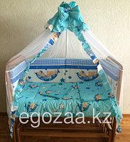Комплект детского постельного белья  к-06 МГ (7 предметов)