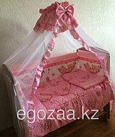 Комплект детского постельного белья  к-06 МГ Комплект в кровать (7 предметов)