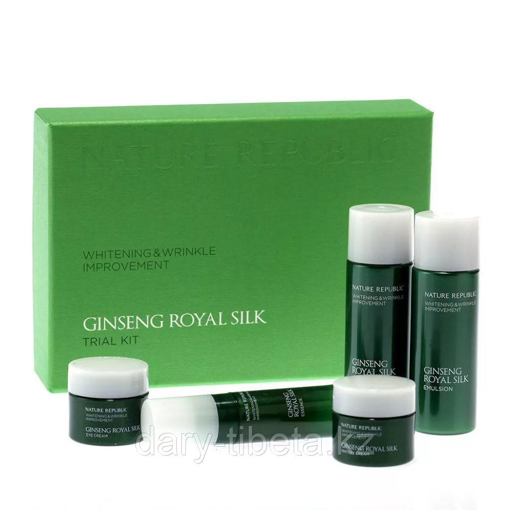 Nature Republic Ginseng Royal Silk Trial Kit- Антивозрастной минисет