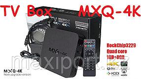 Smart tv Android TV Box MXQ 4K приставка