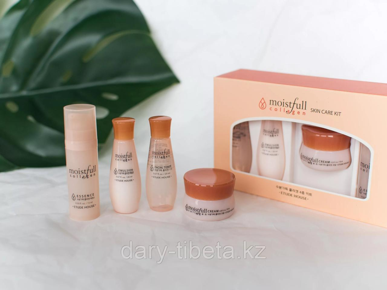 Etude House Moistfull Collagen Skin Care Kit -Мини-набор увлажняющих мини-версий