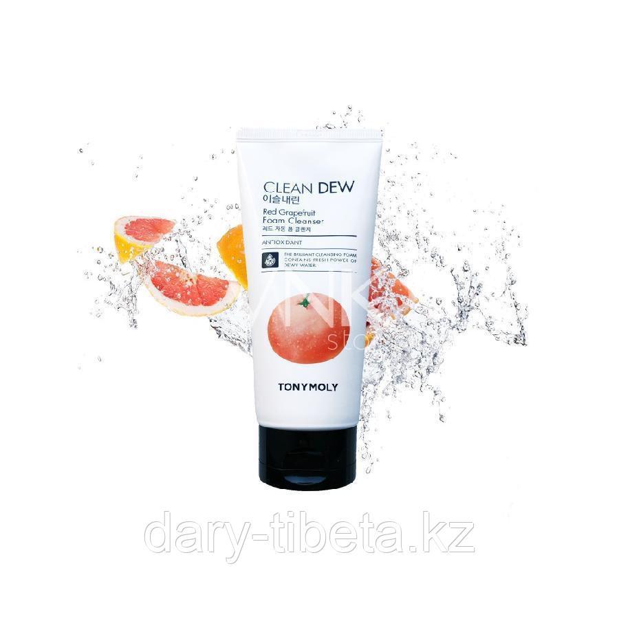 TONY MOLY Clean Dew Red Grapefruit Foam Cleanser - Пенка для умывания с экстрактом красного грейпфрута