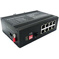 Промышленный неуправляемый POE коммутатор OK-618SFPGEP-FE (диапазон рабочей температуры -40;+85)