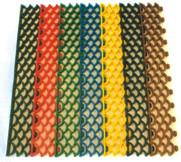 Модульное ячеистое полимерное грязесобирающе-противоскользящее покрытие, фото 1