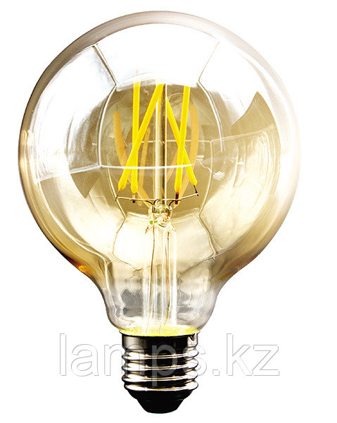 Светодиодная лампа VO/LEDISONE-RETRO/G125/8W/SMD/E27/25K/220V