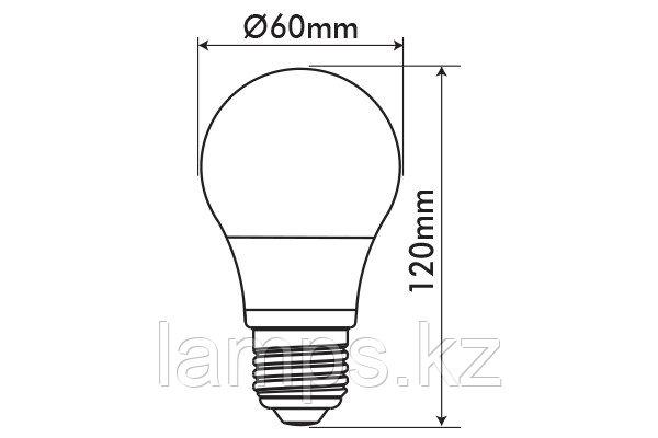 Светодиодная лампа OPTILED/A60/E27/16W/6400K/SMD/CBOX