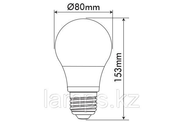 Светодиодная лампа OPTILED/A80/E27/20W/6400K/SMD/CBOX/LED LAMP, фото 2