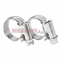 Хомут-стяжка кабельная стальная червячная REXANT 12-20 мм, упаковка 50 шт., (07-0612 )